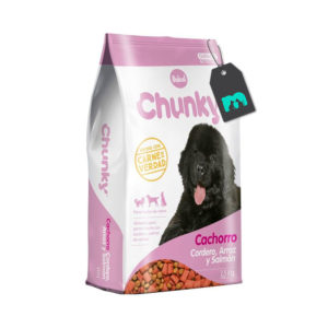 Chunky Cachorro Cordero Arroz y Salmón