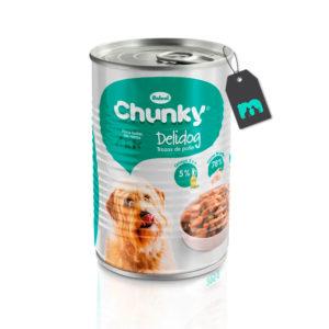 Chunky Delidog Trozos de Pollo Lata 400 gr