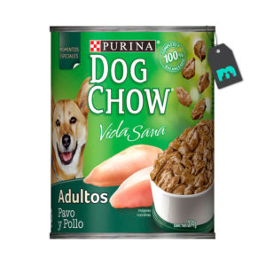 Dog Chow Six Pack Lata Pavo y Pollo 374 gr