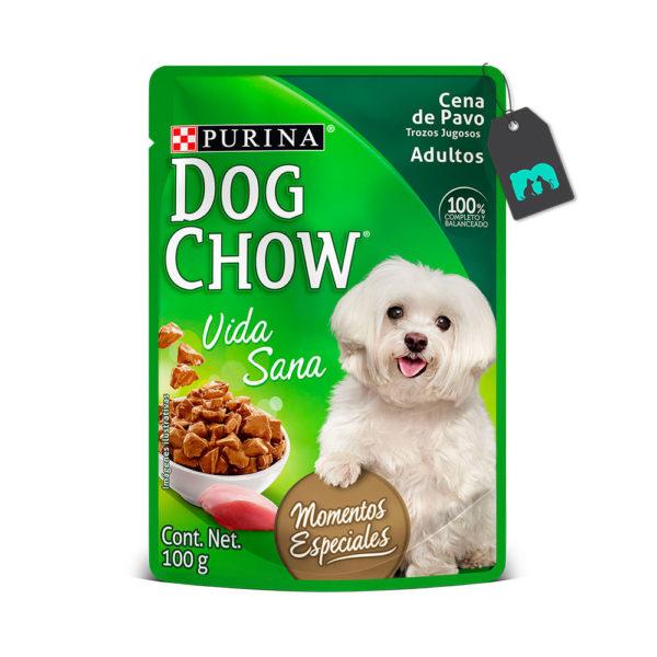 Dog Chow Six Pack Pouch Cena Pavo Trozos Jugosos