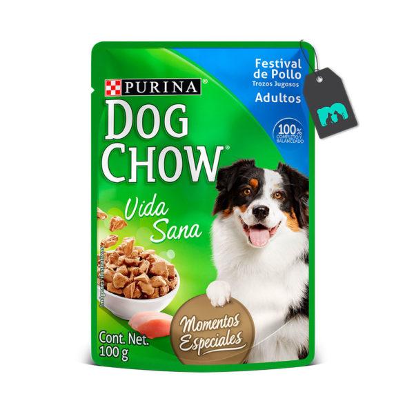 Dog Chow Six Pack Pouch Festival De Pollo