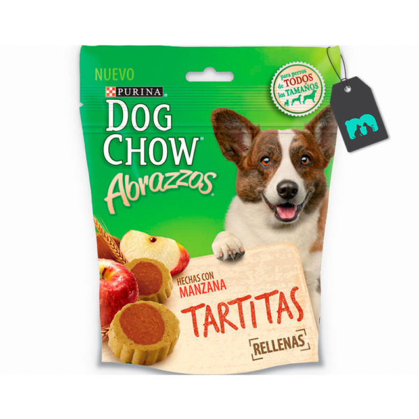 Dog Chow Abrazzos Tartitas 75 gr.