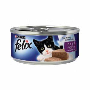 Felix En Lata Paté Pavo y Menundencias
