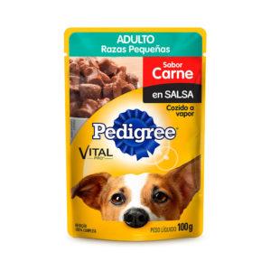 Pedigree Pouch Raza Pequeña Carne 100 gr