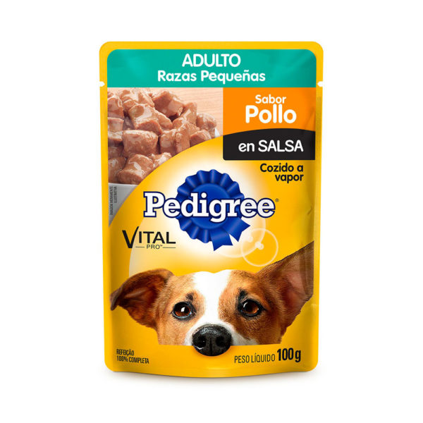 Pedigree Pouch Raza Pequeña Pollo 100 gr