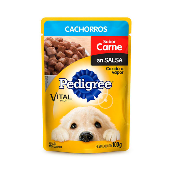 Pedigree Pouch Puppy Carne 100 gr