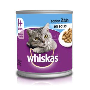 Whiskas lata atún