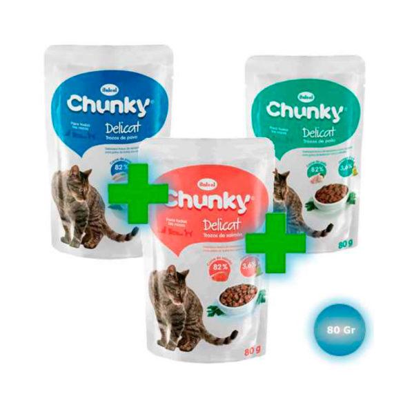 Combo Chunky Delicat Trozitos
