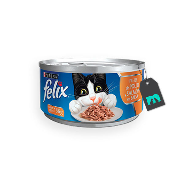 Felix Lata Filetes de Pollo y Salmón en Salsa