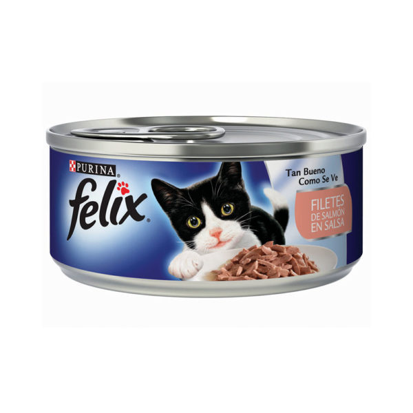 Felix En Lata Filetes de Salmón En Salsa
