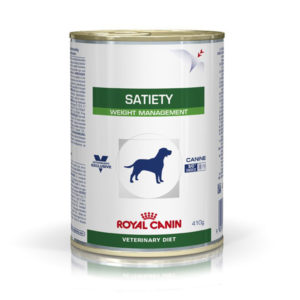 Royal Canin Veterinary Diet Dog Satiety Support Lata 385g