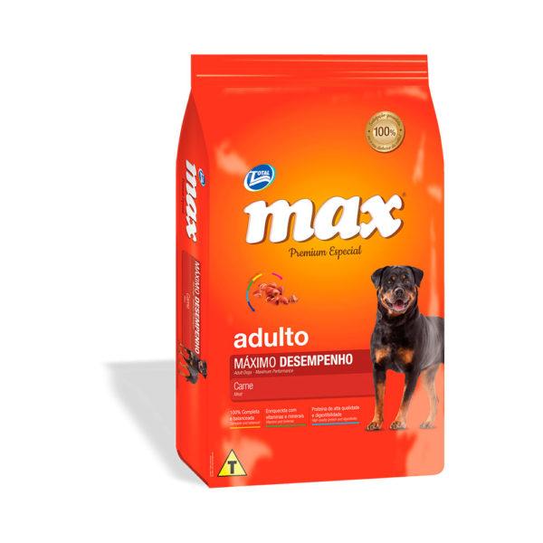 Total Max Perro Adulto Máximo Rendimiento Carne