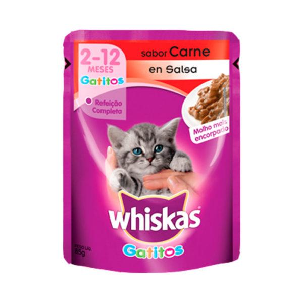 Whiskas Pouch Gatitos Carne