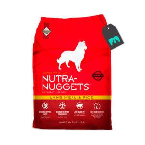 Nutra Nuggets Cordero y Arroz Para Perro Adulto