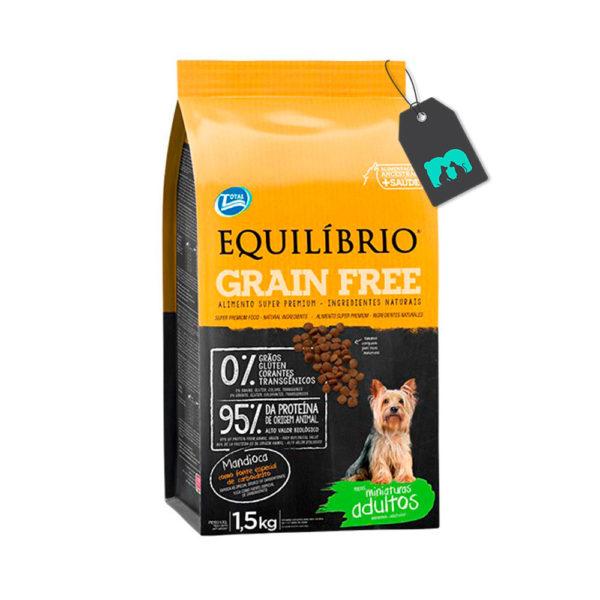 Equilibrio Perro Mature Miniatura Grain Free