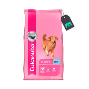 eukanuba weigh control large breed