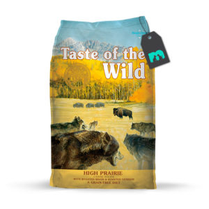 taste of the wild high prairie canine recipe con bisonte asado y venado asado