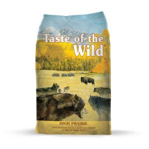 Taste Of The Wild High Prairie Canine Recipe con Bisonte Asado y Venado Asado