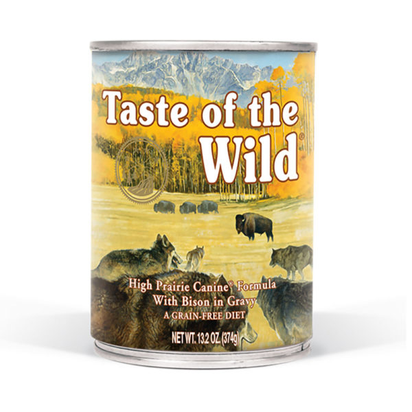 Taste of The Wild Lata High Prairie con Bisonte en Salsa 380 gr