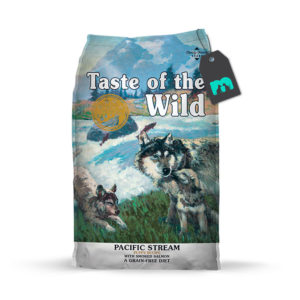 taste of the wild pacific stream puppy recipe con salmon ahumado