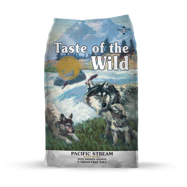 Taste Of The Wild Pacific Stream Puppy Recipe con Salmón Ahumado