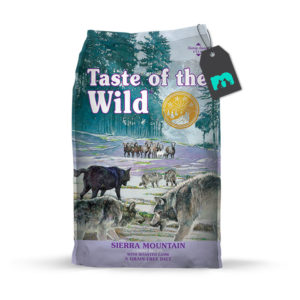 taste of the wild sierra mountain canine recipe con cordero asado