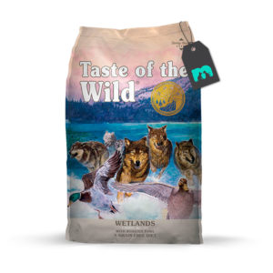 taste of the wild wetlands canine recipe con aves asadas
