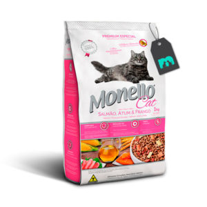 Monello Cat Salmon Atun pollo
