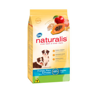 Naturalis Cachorro Pollo Pavo y Frutas