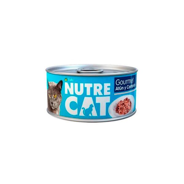 Nutre Cat Lata Gourmet Atún y Camarón