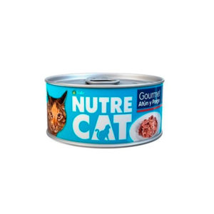 Nutre Cat Lata Gourmet Atún y Pargo
