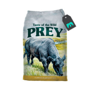 taste of the wild prey angus beef gato