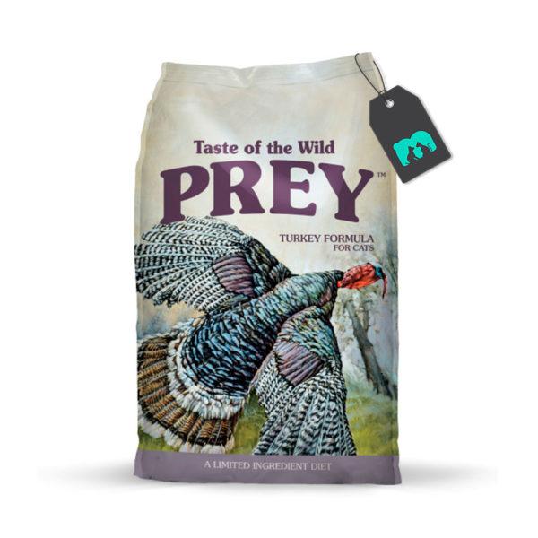 taste of the wild prey turkey cat
