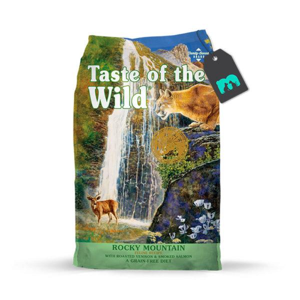 Taste Of The Wild Rocky Mountain Ciervo y Salmón Ahumado