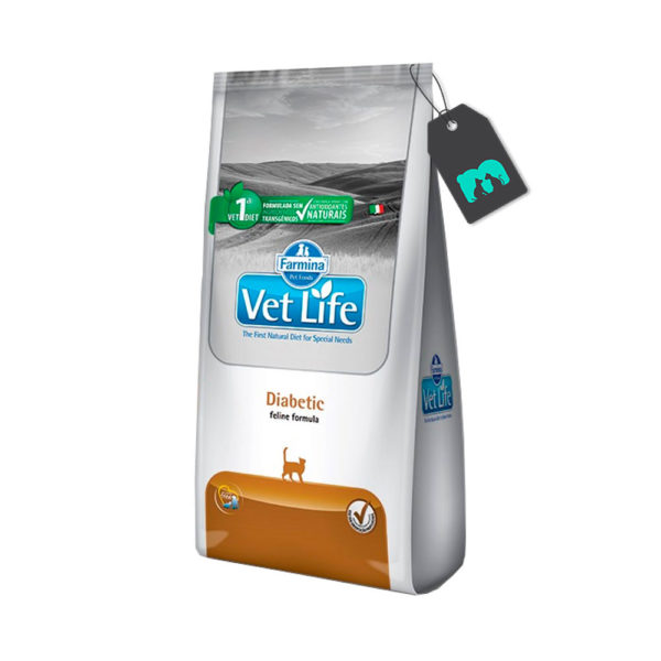 Vet Life Gatos Diabetic