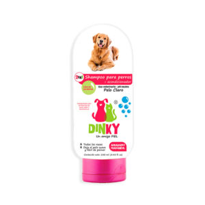 Dinky Shampoo Para Perros Pelaje Claro x 250 ml