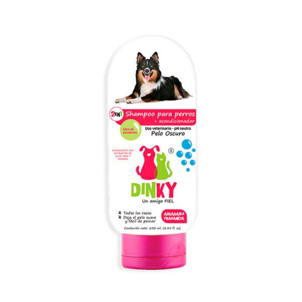 Dinky Shampoo Para Perros Pelaje Oscuro x 250 ml