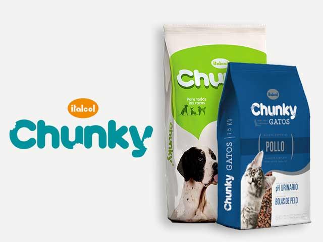 Comida para perro y gato Chunky