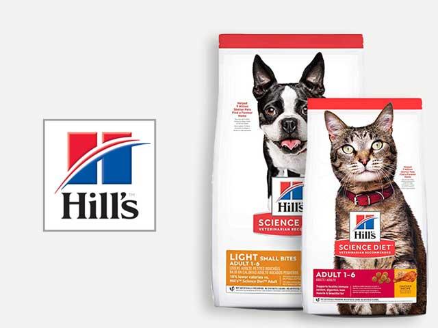 Comida para perro y gato Hill's