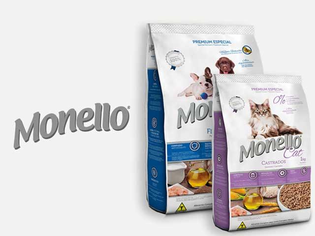 Comida para perro y gato Monello