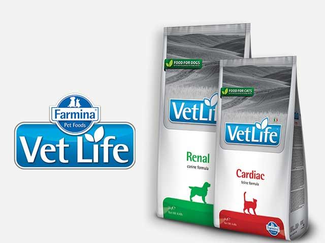 Comida para perro y gato Vet Life