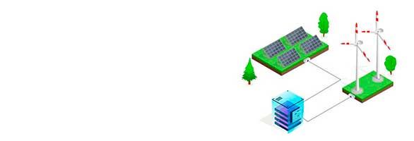 Mascota Market energia verde